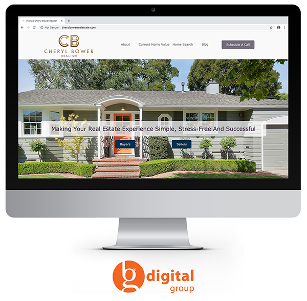 Cheryl Bower Real Estate website